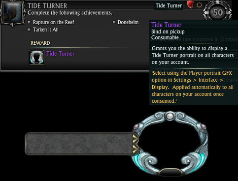 Tide Turner Zone Achievement
