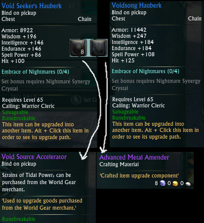 Void Seeker Gear Change