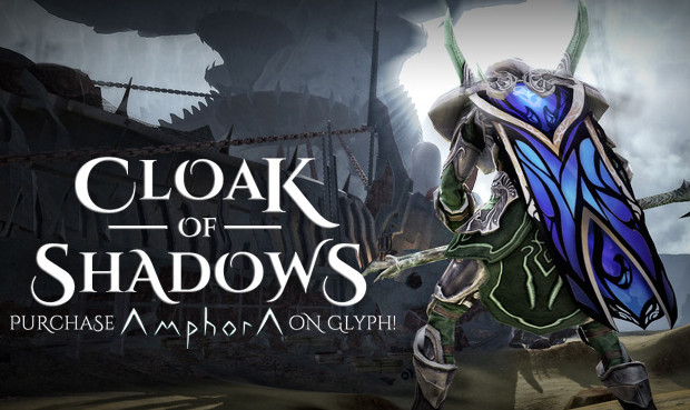 Cloak of Shadows Amphora