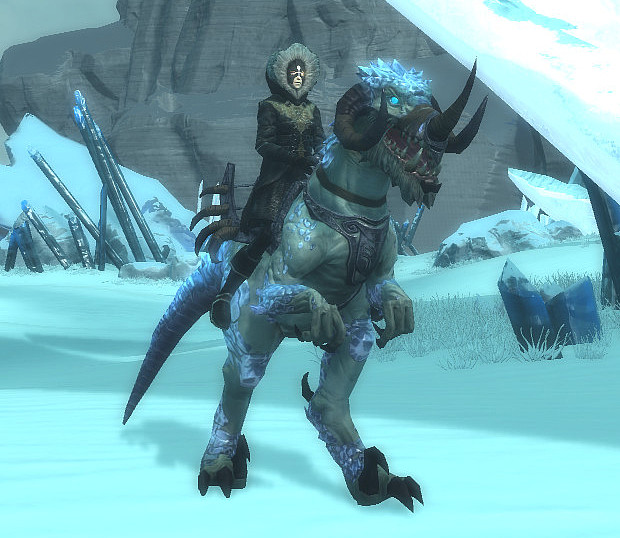 Ice Strider Mount Giveaway Image