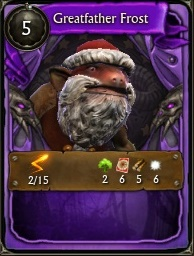 Minion Card Greatfather Frost