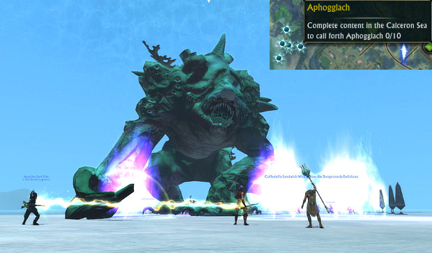 Aphogglach Zone Event