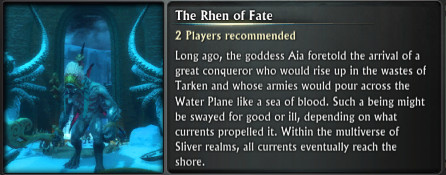 Chronicle Rhen of Fate Blurb