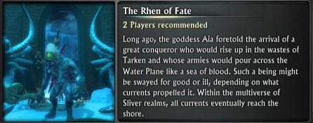 Chronicle Rhen of Fate Blurb