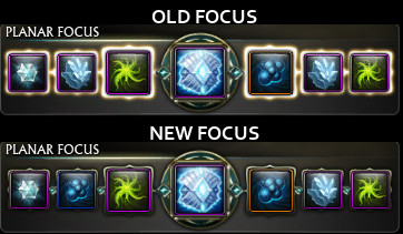 Focus Look Changed
