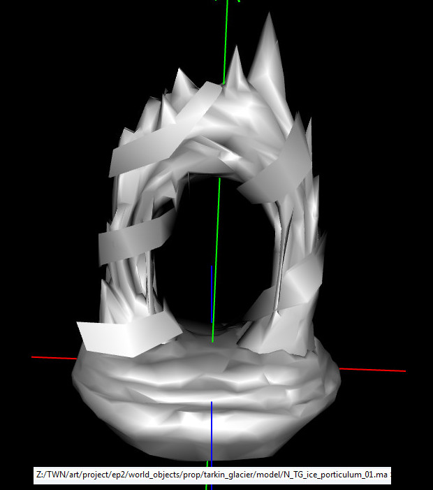 Ice Porticulum Model
