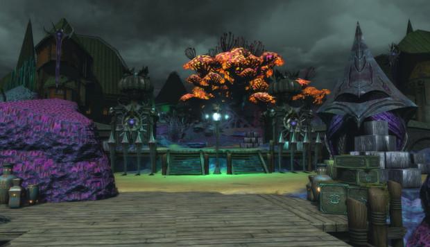 Omicron Harbor 2 Tyrants Throne Test