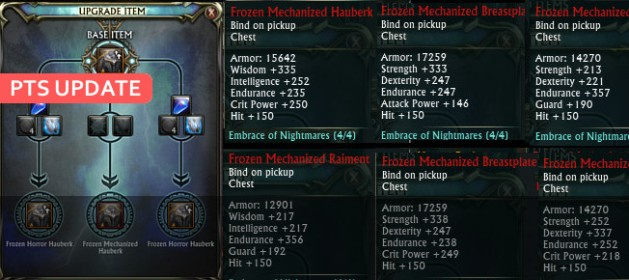 PTS Update Transcendent Chest Upgrade Feature Image