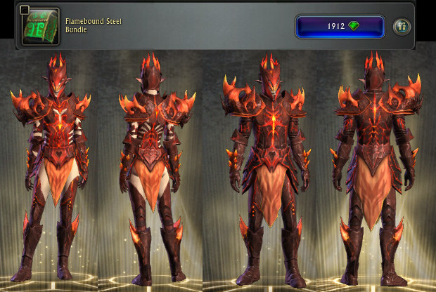 RIFT Flamebound Steel Bundle