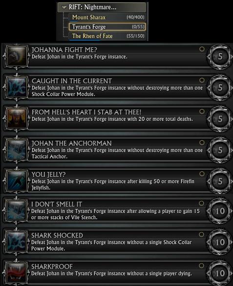 Les nouveautés de la 3.1 Tyrants-forge-initial-achievements