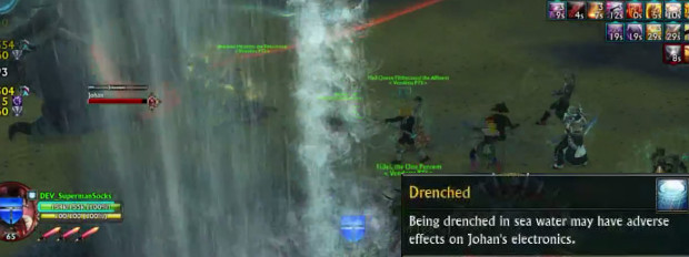 Tyrant's Throne Johan Drenched Debuff