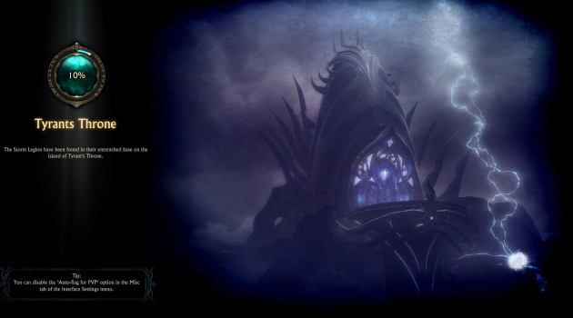 Tyrant's Throne Loading Screen 1