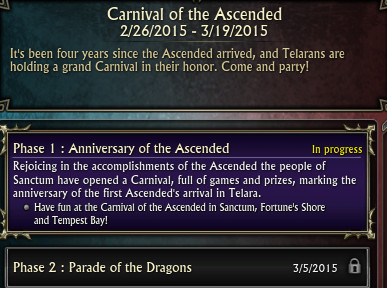 Carnival of the Ascended 2015 Tracker