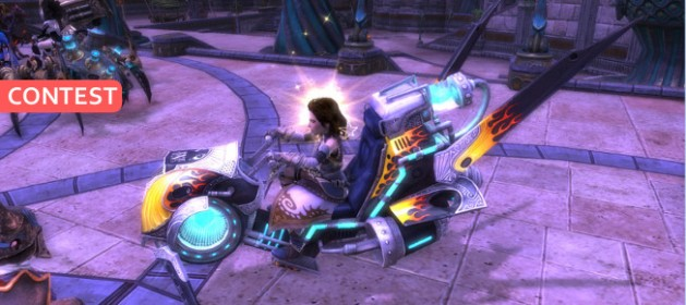 Contest 4th Anniversary Arclight Rider Mount Feature Image