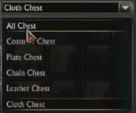 3.2 Wardrobe System Dropdown