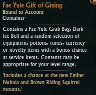 Fae Yule Gift of Giving