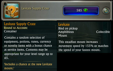 Levitate Supply Crate