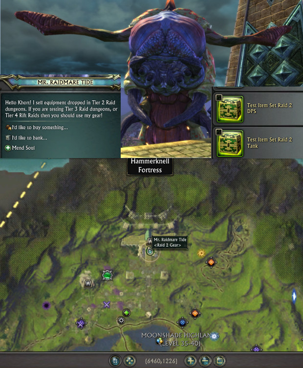 Mr Raidmare Tide Raid 2 Gear NPC