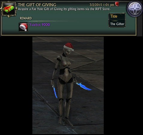 The Gift of Giving Achievement