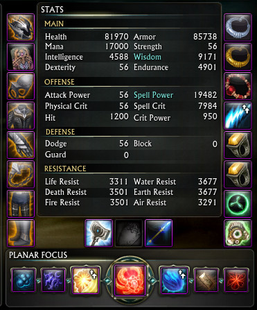 Tier 2 Raid Test Gear Cleric DPS