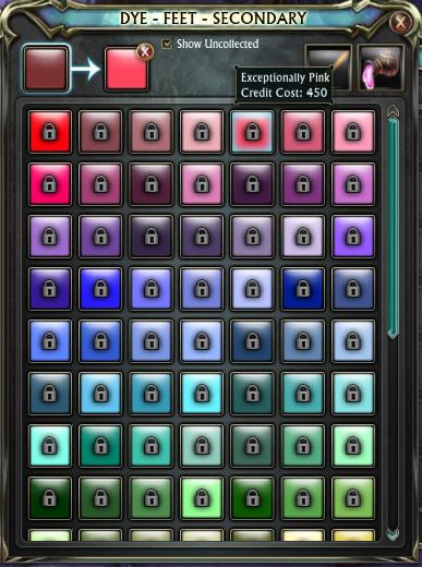 3.2 Wardrobe System Dye System