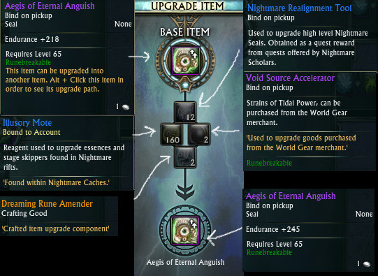 Aegis of Eternal Anguish Nightmare Seal 2nd Upgrade 3.2