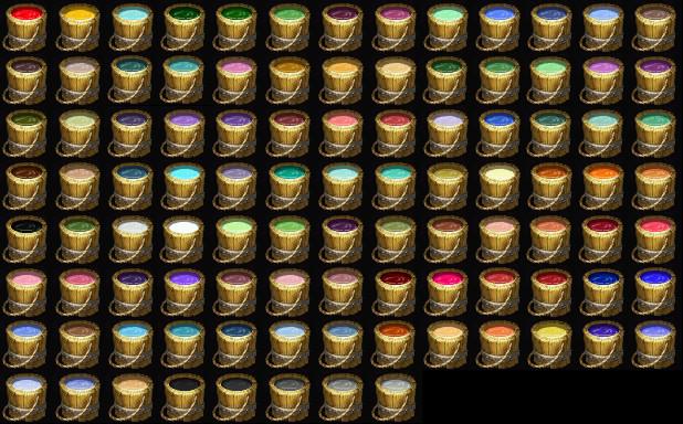 Dye Buckets