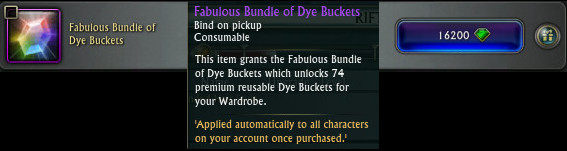 Fabulous Bundle of Dye buckets