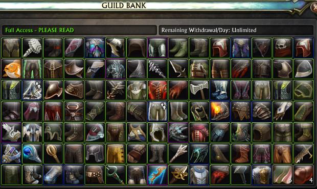 Guild Bank Appearances