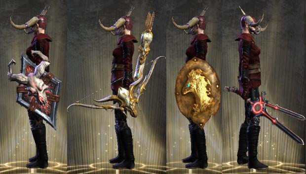 Infernal Dawn Weapons
