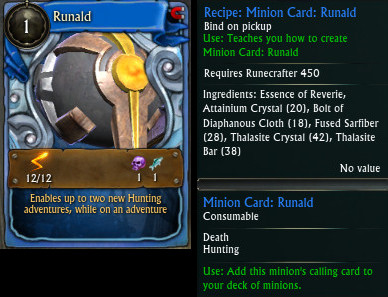 Minion Card Runald