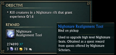 Nightmare Realignment Tool Daily