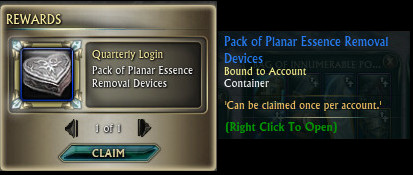 Pack of Planar Essence Removal Devices