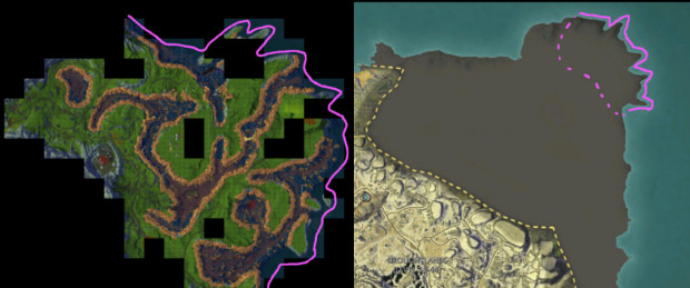 Planetouched Wilds Koala Tail Map Comparison
