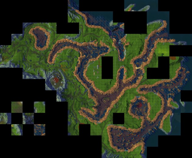 Planetouched Wilds Minimap Compilation 1
