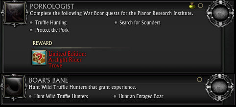 Porkologist Battle Boar Mount Promo Week Achievements PTS