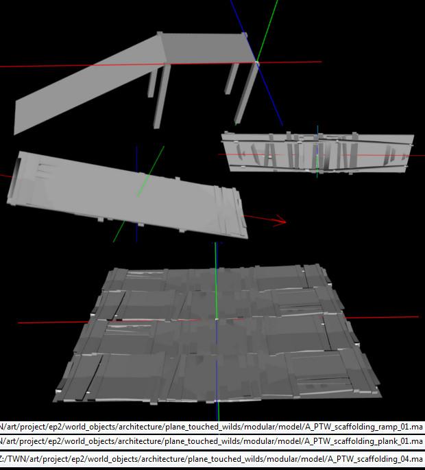 PTW Scaffolding Models