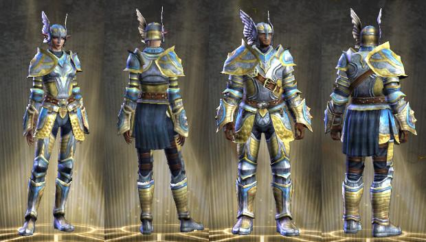 RIFT Sanctuary Guard's Wardrobe Set