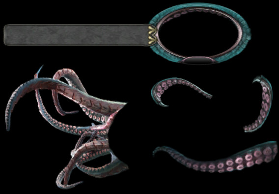 Tentacle Portrait components