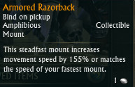 Armored Razorback Mount Tooltip