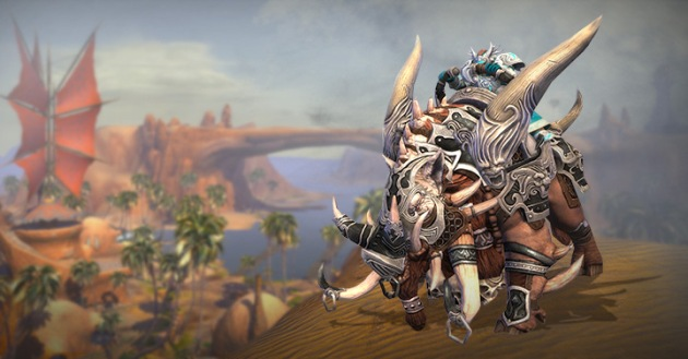 Armored Razorback Mount Trion Promo Image
