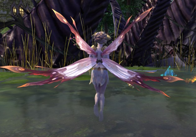 Cleric Fairy Combat Pet Back