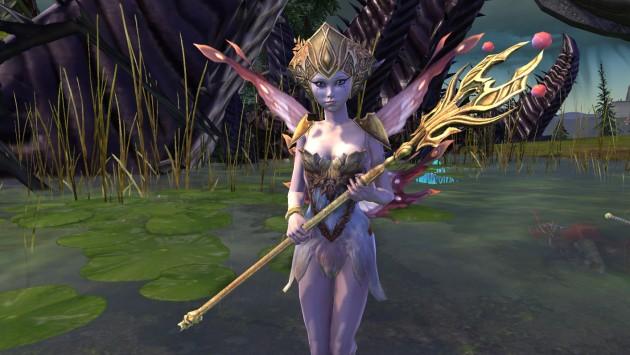 Cleric Fairy Combat Pet Front