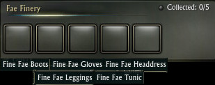 Fae Finery Appearance Set