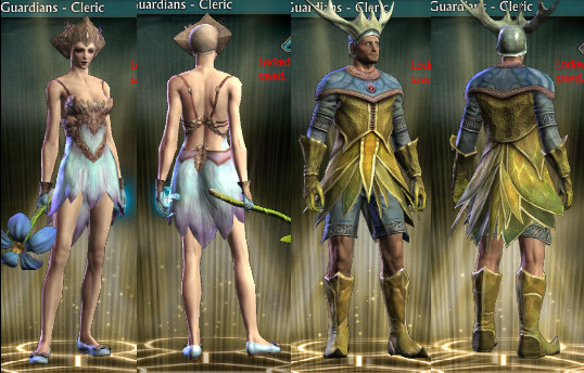 Fae Finery Outfits on PTS