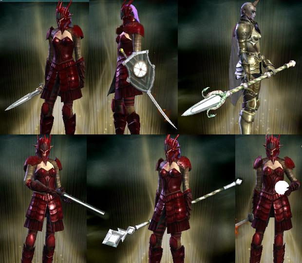 Hammerknell Weapon Models