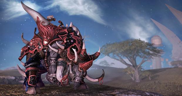 RIFT Celestial Razorback Mount