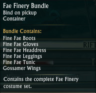 Fae Finery Bundle Tooltip