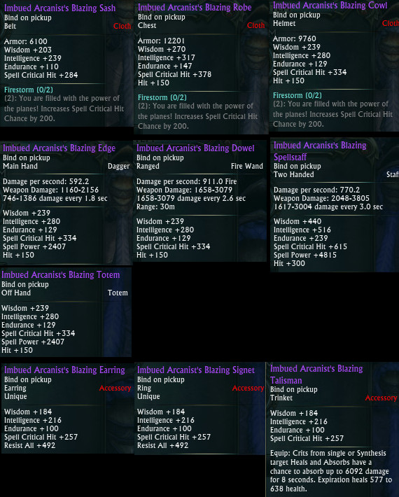 Planar Crafting Mage DPS Upgrades PTS