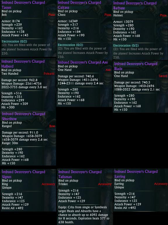 Planar Crafting Warrior DPS Upgrades PTS